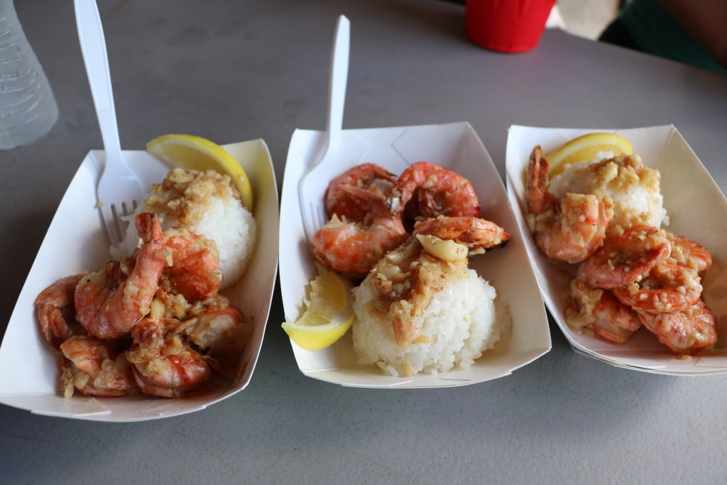 Hawaiian shrimp