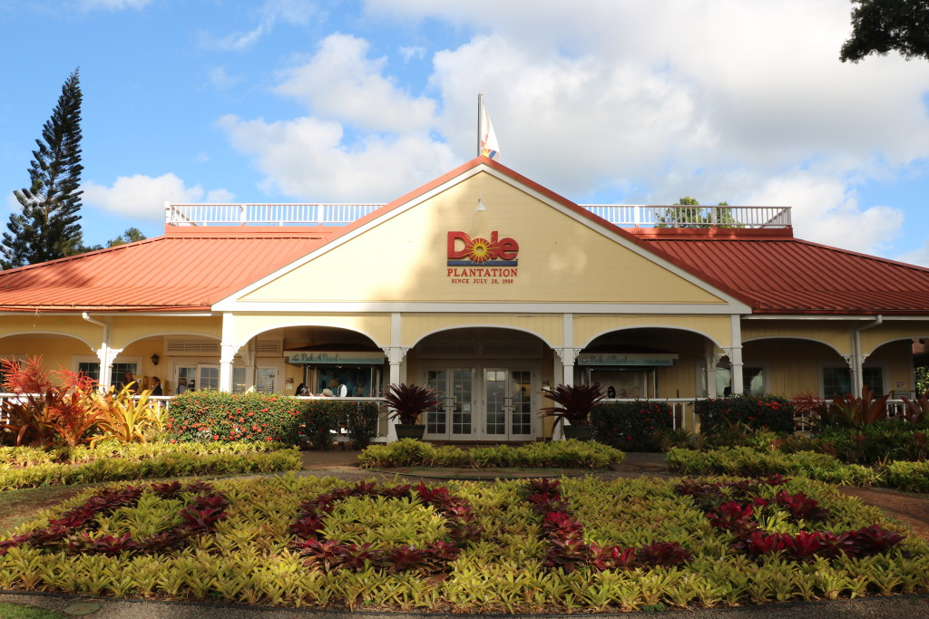 Dole plantation entrance